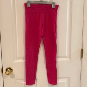Justice Pink Leggings Size 10
